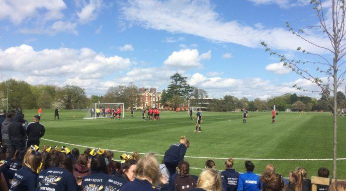 UEA football derby day