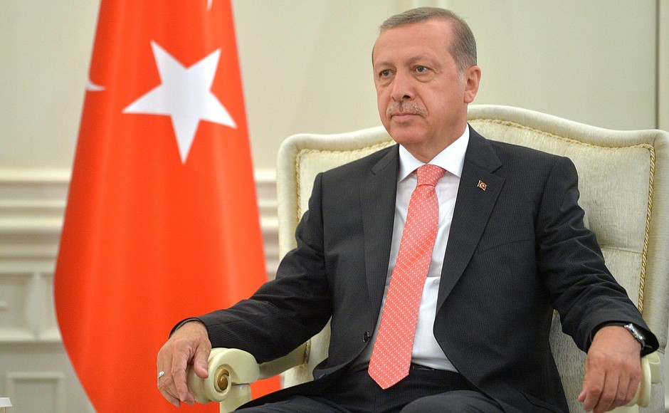 president of turkey Recep Tayyip Erdogan, via the Kremlin