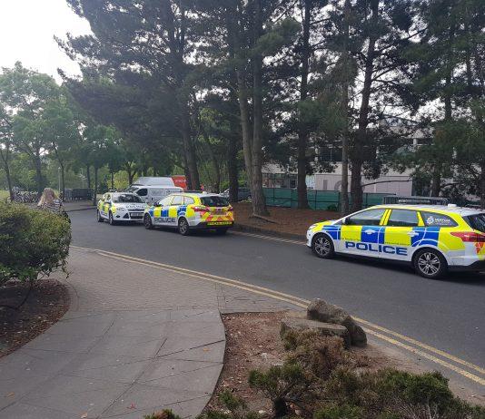 UEA police campus