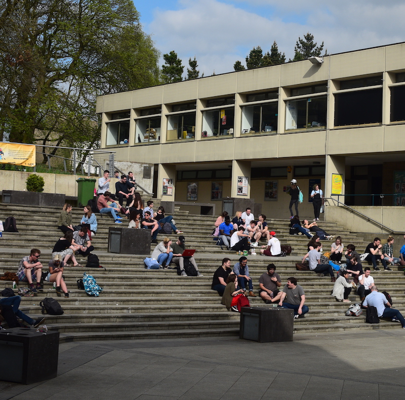 Bursaries UEA campus Square