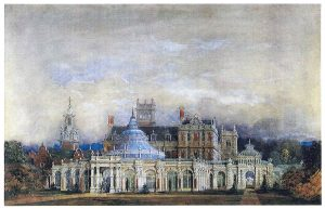 Anon, Somerleyton Hall c.1840 © The Collection of Lord Somerleyton