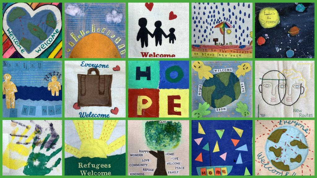 school children refugees refugee