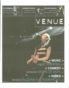 Venue - Issue 255 - 31/03/2011