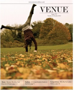 Venue - Issue 272 - 22/10/2012