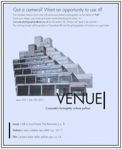 Venue - Issue 257 - 24/09/2011