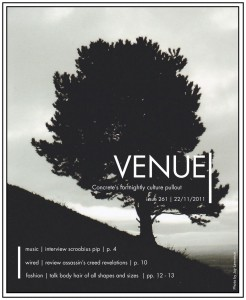 Venue - Issue 261- 22/11/2011