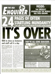 The UEA Enquirer - 18/05/2005