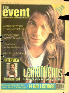 The Event - Issue 001 - 29/09/1993