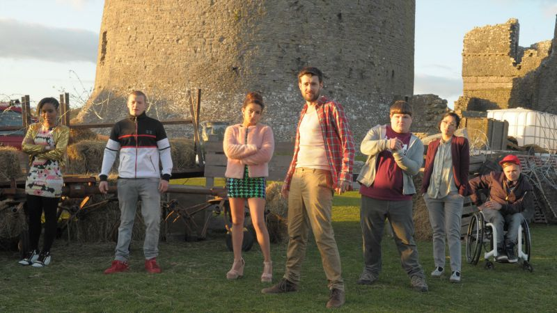 Alfie Wickers (Jack Whitehall) and Class Form K embark on their manic trip to Cornwall.