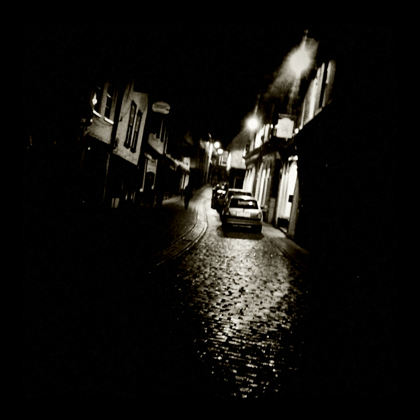 Norwich's cobbled streets.