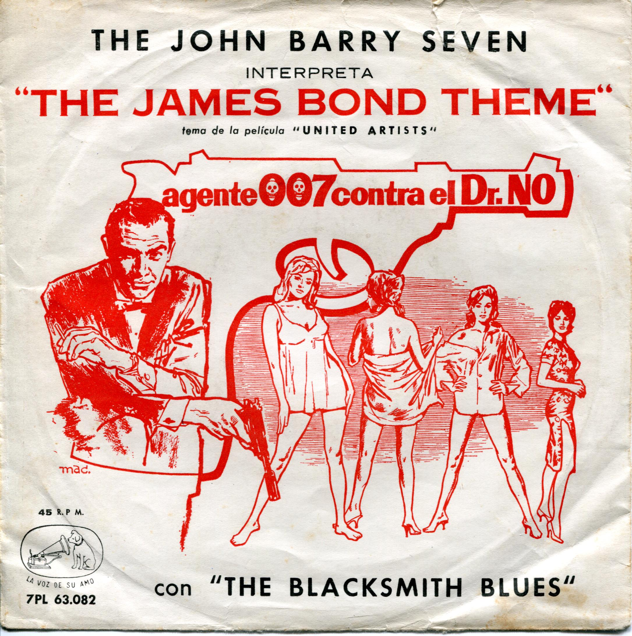 James Bond Theme record sleeve. Photo: Johan Oomen, Flickr