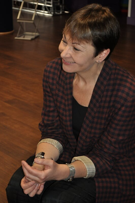 """The scrapping of maintenance grants is yet one more attack on students"" – interview with Caroline Lucas"