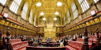 House of Lords. Photo: Flickr, UK Parliament