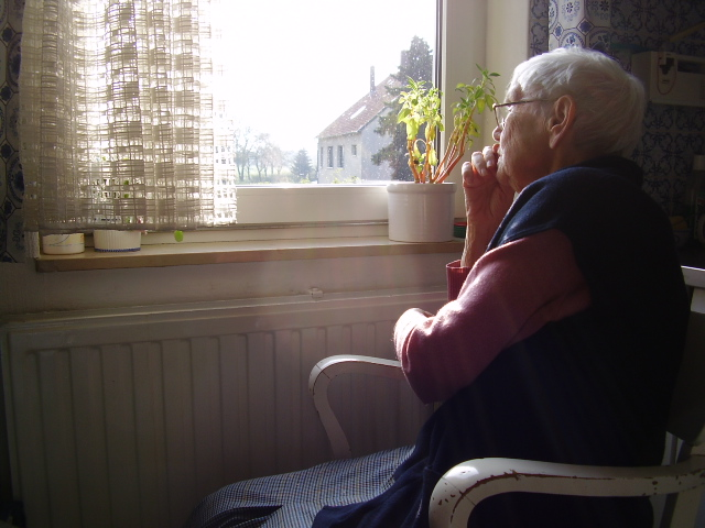 Loneliness in older people. Photo: Borya, Flickr