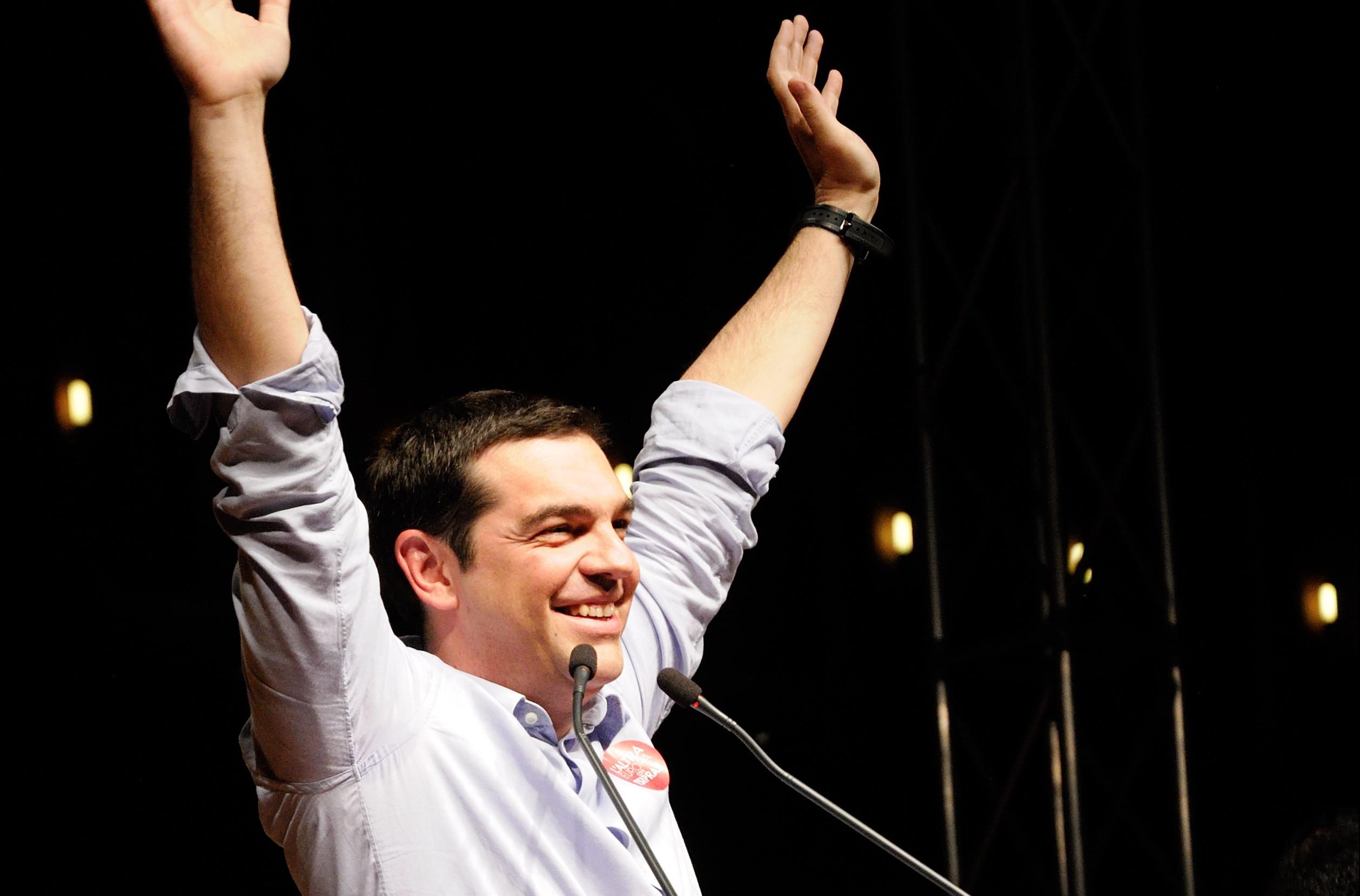 Tsipras. Photo: Lorenzo Gaudenzi, Flickr