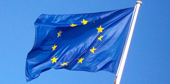 EU Flag. Photo: fdecomite, Flickr.