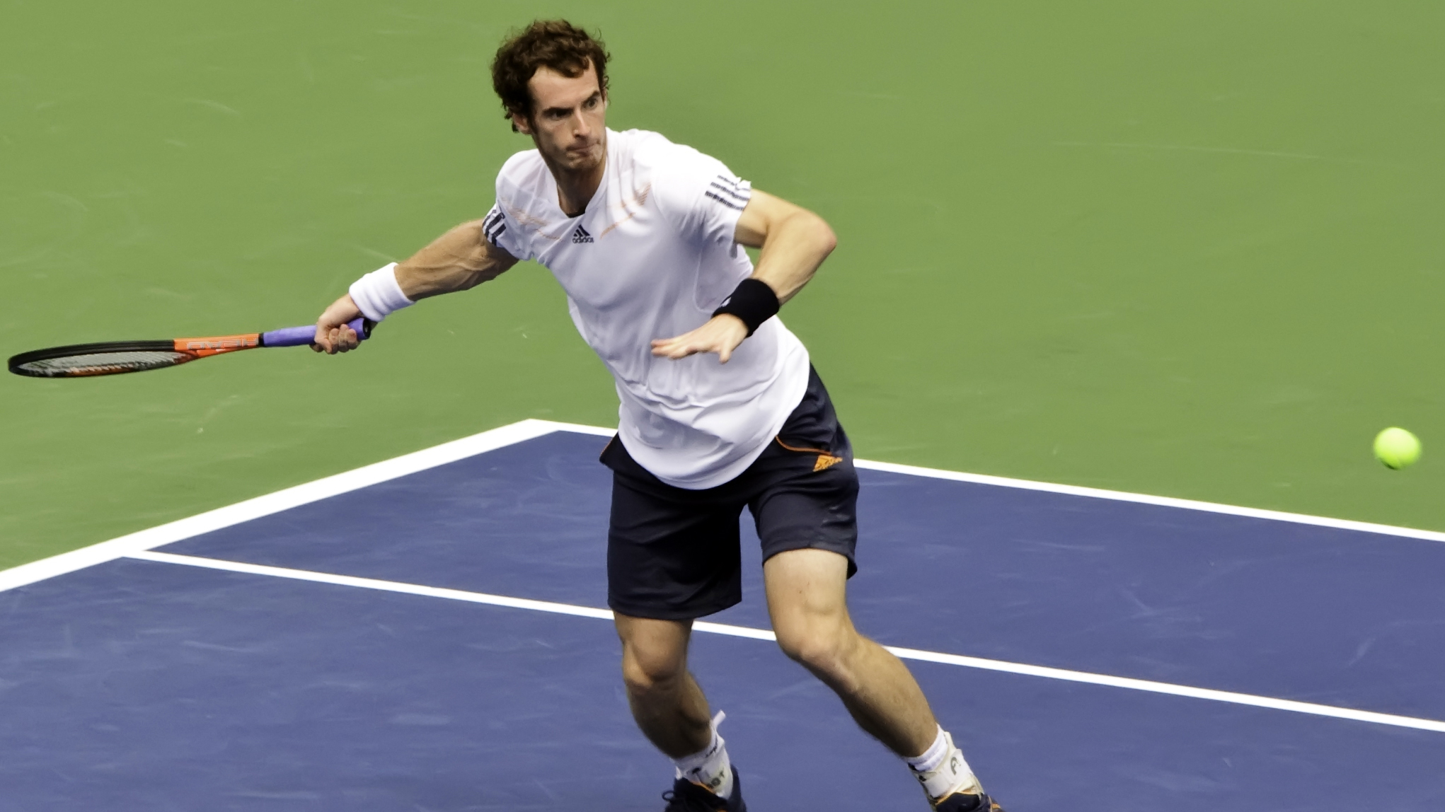 Andy Murray. Photo: Flickr, Francisco Diez
