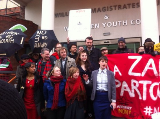 Former UEA student convicted of aggravated trespass over Heathrow protest