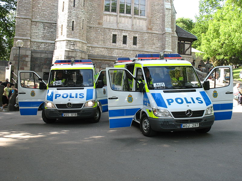 Swedish Police. Photo: Wikimedia, Peter Isotalo