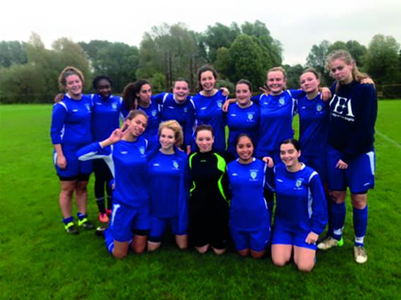 UEA Womens Football. Photo: Jess Keeling for Concrete Photography