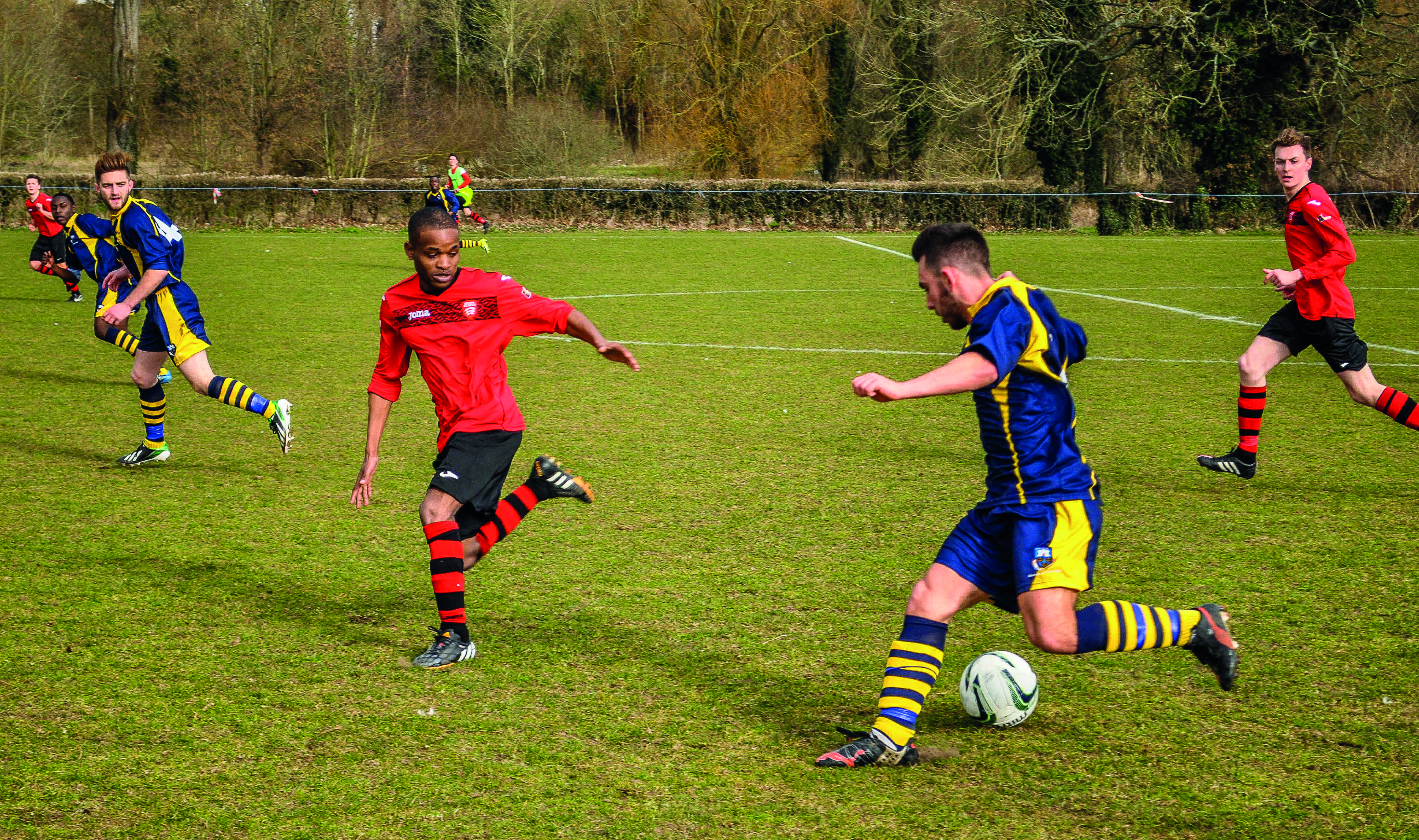 UEA Football. Photo: Billie May Jones for Concrete Photography