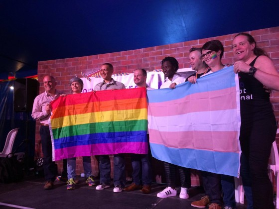 MPs and Rainbow Trees: Pride 2016