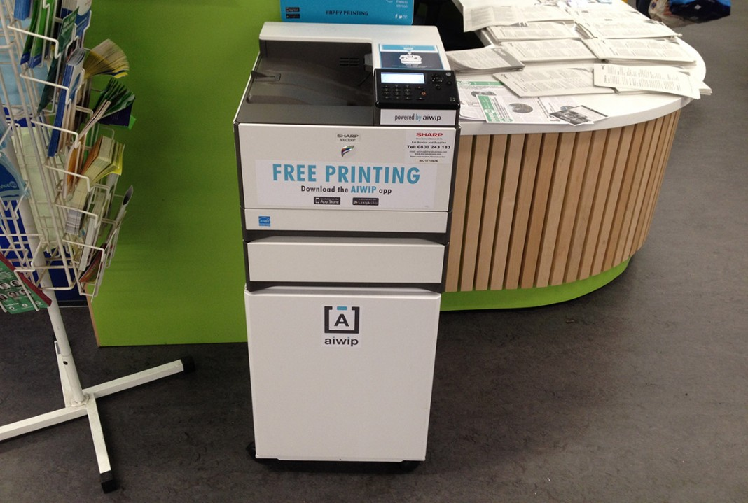 UEA SU's free to use printer Photo: James Chesson