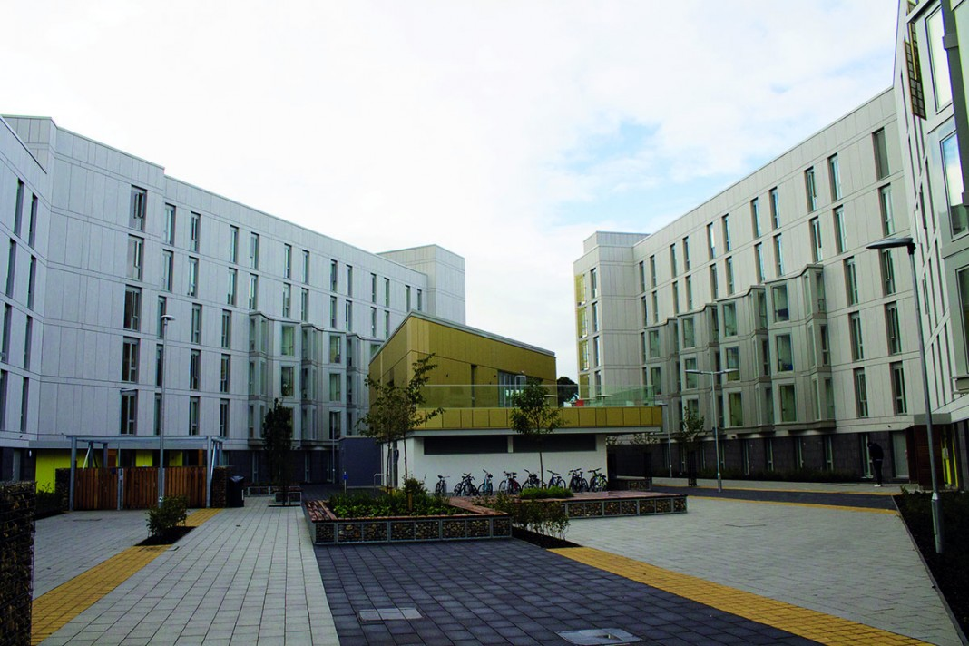 Barton and Hickling, UEA's newest accommodation Photo: Megan Baynes