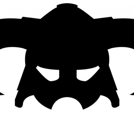 Skyrim Iron Helmet illustrated by Kirsty McAlpine