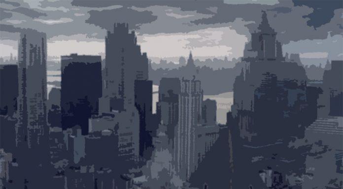 Batman's Arkham City, illustrated by Kirsty McAlpine