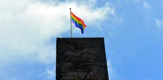 Pride flag, UEA press office