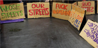 Reclaim the night protestors: Katy Jon Went