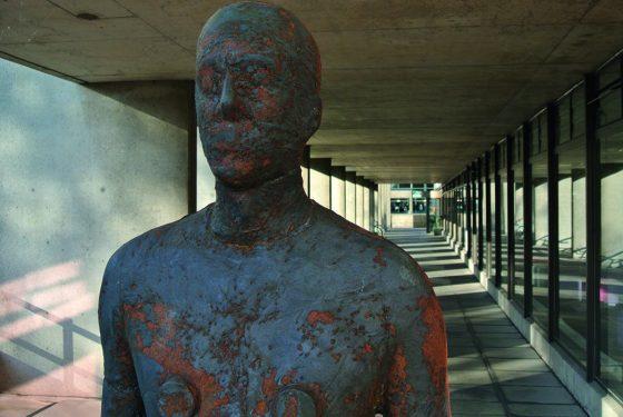 Gormley statues unveiled: Stephen Fry weighs in on debate