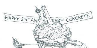 Editorial cartoon, Dougie Dodds