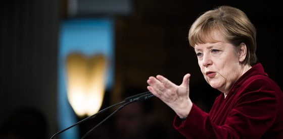 EU's Anglo dependency over says Merkel
