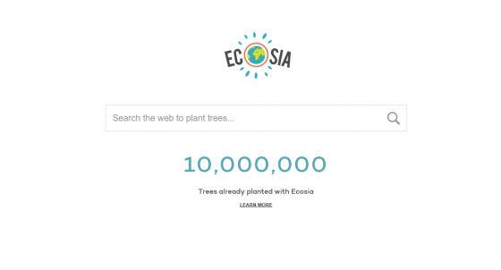 Ecosia: the tree-planting search engine