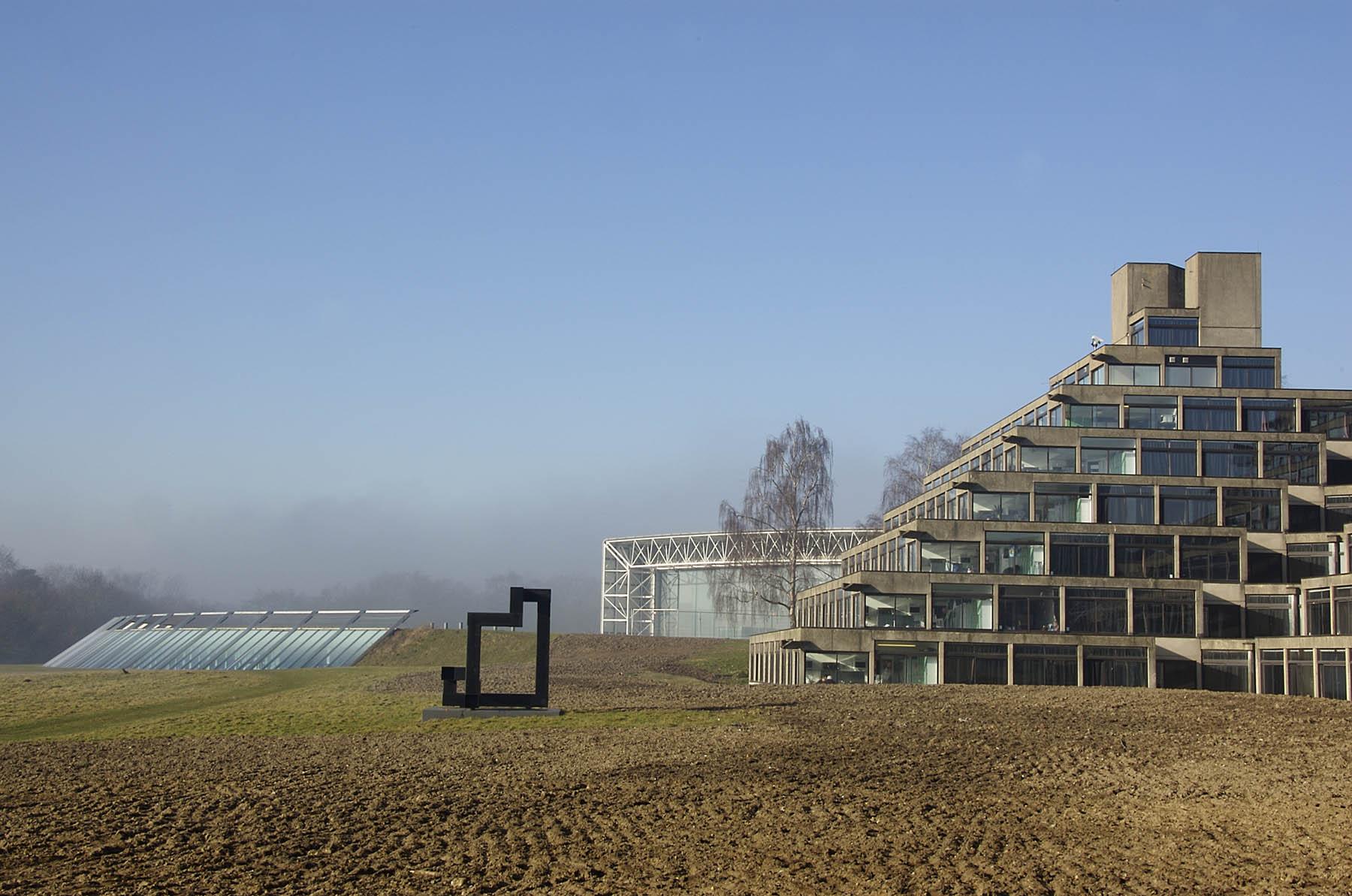 Proximity, Ian Tyson, UEA, Norwich. Photo: mira66