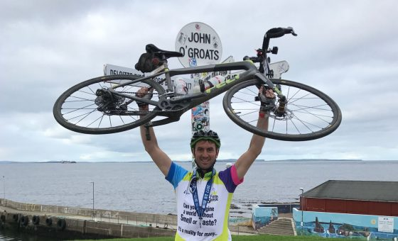 Academic completes 1,000 mile charity bike ride