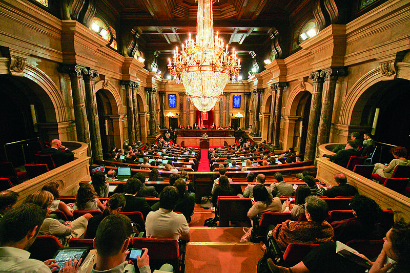 Parliment Catalonia, flickr