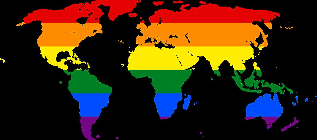 rainbow world map gay by janeb13 on pixabay