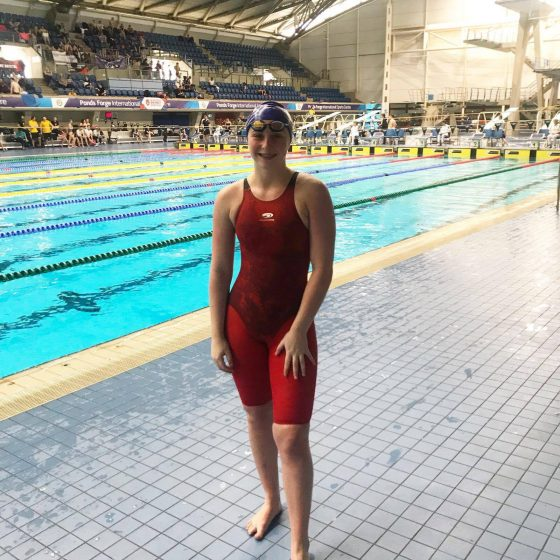 Binning keeps winning for UEA swimming