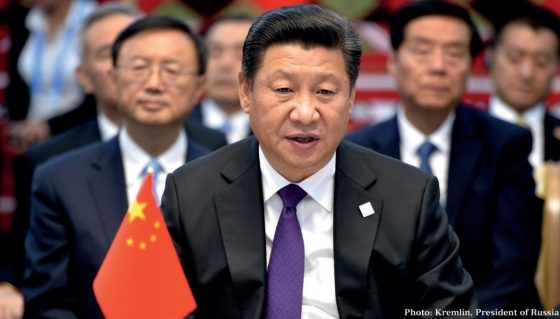 Xi cements positon in China