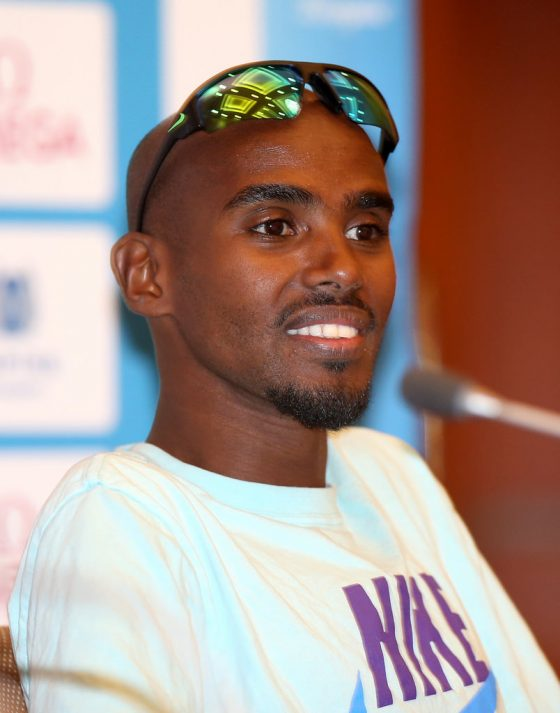 Mo Farah smashes British record