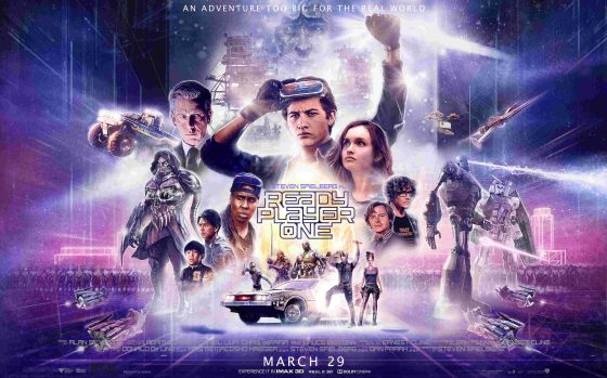 Spielberg goes nostalgic in Ready Player One