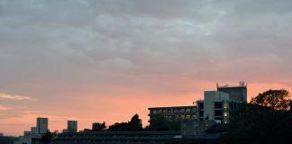 campus sunset by matt nixon