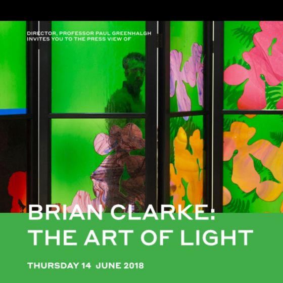 Brian Clarke: The Art of Light at the Sainsbury Centre for Visual Arts