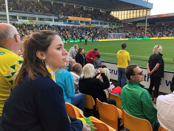 Carrow Road: a new perspective