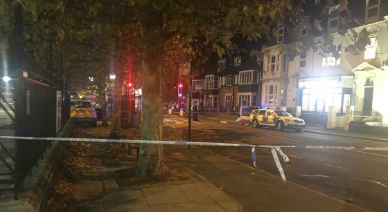 Police investigating after two men stabbed in Norwich city centre