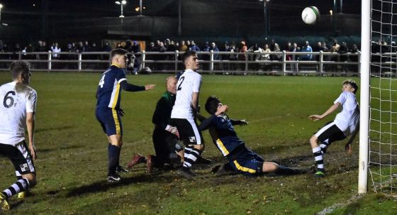 Historic win for UEA Football over Linnets