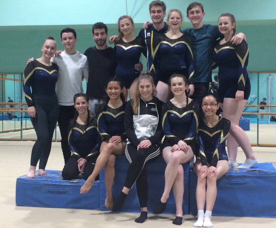 UEA Gymnasts enjoy successful Midlands Open